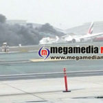 Dubai Emirates flights crash land