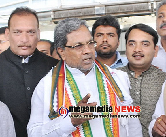 Joining of Somanna to Cong was a rumour: CM Siddaramaiah